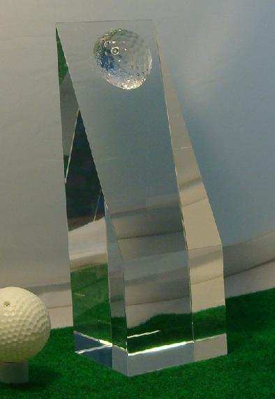 Make your own golf trophy